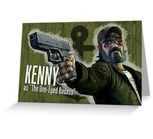 Kenny Borderlands Mashup Poster Greeting Card