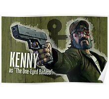 Kenny Borderlands Mashup Poster Poster