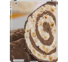 nougat in winter iPad Case/Skin