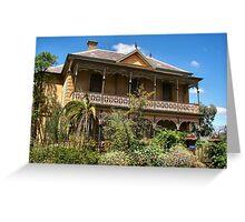 Tivey Mansion - Inglewood Victoria Greeting Card