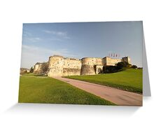 William The Conqueror's Home, Caen, France 2012 Greeting Card