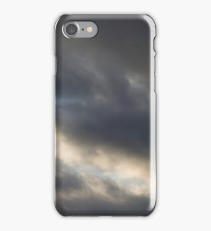 HDR Composite - Rough Clouds and Sky iPhone Case/Skin