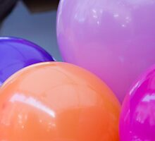 colorful balloons by spetenfia