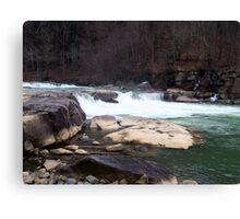 valley falls, , wva Canvas Print