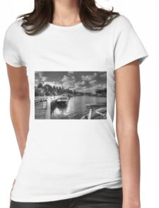 0464 Port Fairy Harbour  Womens Fitted T-Shirt