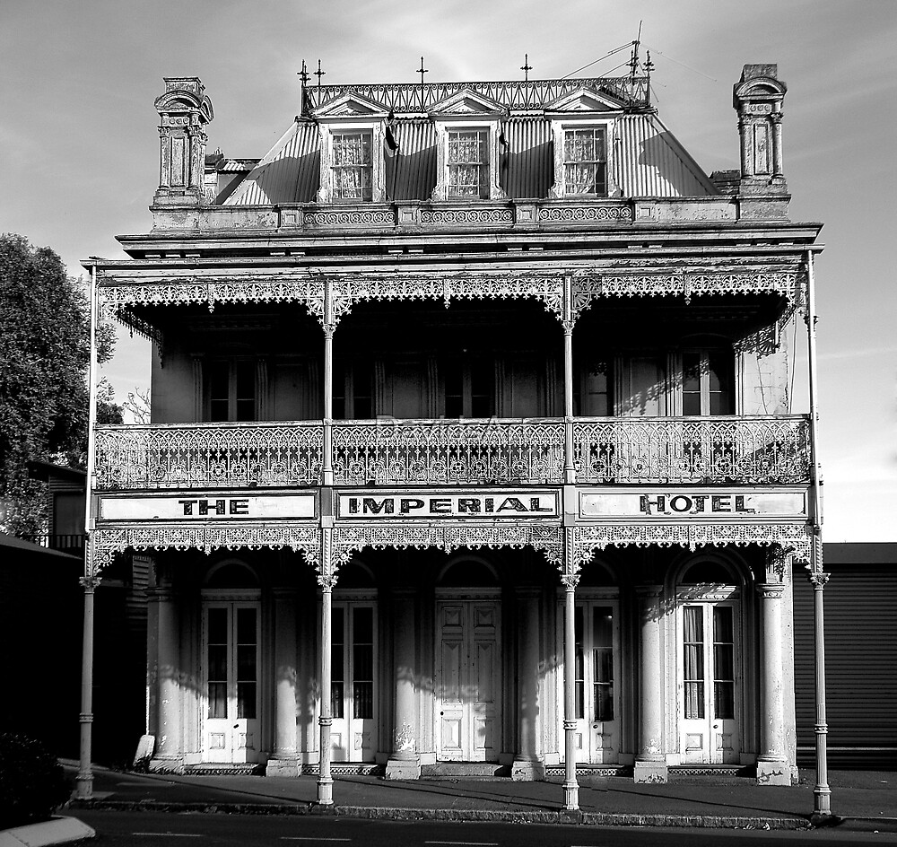 0228 Imperial Hotel by DavidsArt