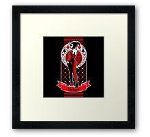 Harlequin - Altered Framed Print