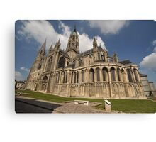 Bayeux Cathedral, France, Europe 2012 Canvas Print
