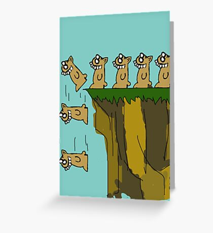 Rodent Death  Greeting Card