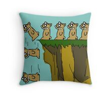 Rodent Death  Throw Pillow