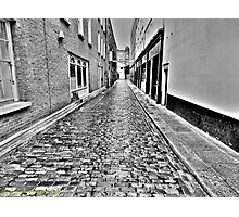 Cobbled Alley Photographic Print