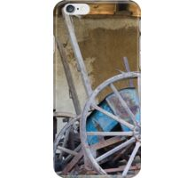 old barn and tools iPhone Case/Skin