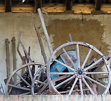 old barn and tools by spetenfia