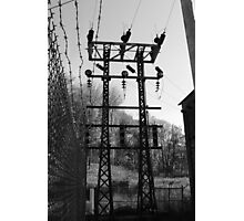 High voltage Photographic Print