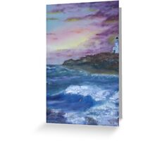 Sea Side Greeting Card