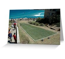 Level Playing Field, Sculptures By The Sea 2006 Greeting Card