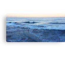 Headland Drop Off Canvas Print
