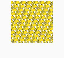 Tessellation Pattern Yellow Parallelograms Women's Fitted Scoop T-Shirt