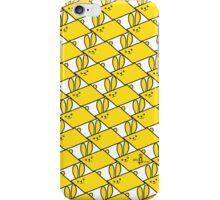 Tessellation Pattern Yellow Parallelograms iPhone Case/Skin