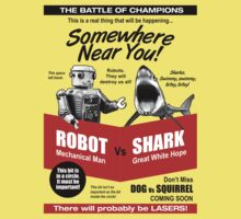 Robot vs. Shark Kids Clothes