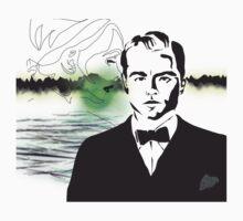 Gatsby- Hopeless Romantic Kids Tee