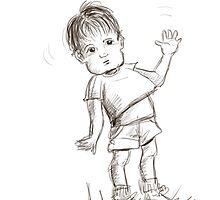 Quick Sketch by susi lawson