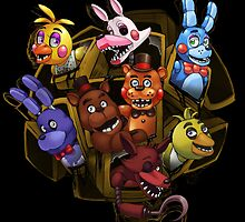 Five Nights at Freddy's 2 by scittykitty