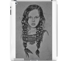 Pretty in Purple - B & W iPad Case/Skin