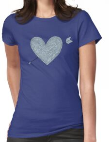 armour love Womens Fitted T-Shirt