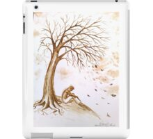 Loneliness and depression iPad Case/Skin