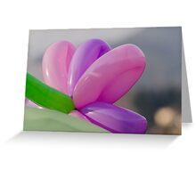 colorful balloons Greeting Card
