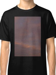HDR Composite - Sunset and Wispy Clouds Classic T-Shirt