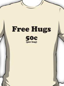 free hugs white/colour T-Shirt