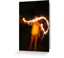 Sparkling Night Greeting Card