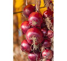 onion Photographic Print