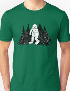 the lonely life of a yeti T-Shirt