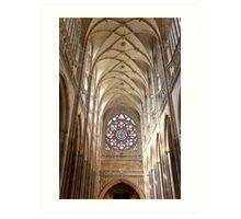 St Vitus Cathedral Art Print