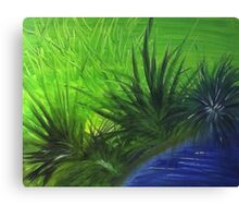 FOREVER GREEN.......  Canvas Print