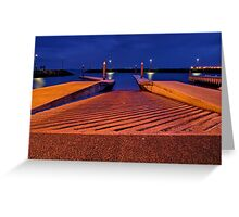 """Safe Harbour"" Greeting Card"