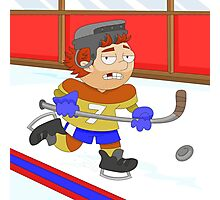 Winter Sports: Ice Hockey Photographic Print