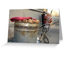 sweet potatoes Greeting Card