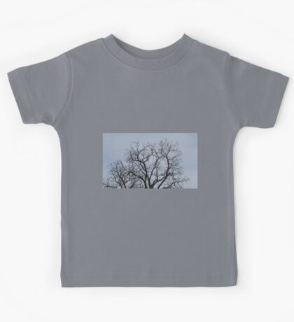 HDR Composite - Tree Silhouette Kids Tee