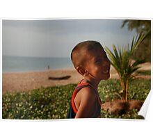 Thailand kid Poster