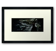 You Battle That Dragon Framed Print