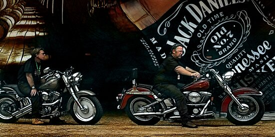 JD and Harley - Made for Each Other by Graham Jones