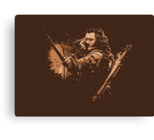 BARD THE BOWMAN Canvas Print