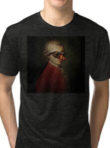 Steampunk Mozart Tri-blend T-Shirt