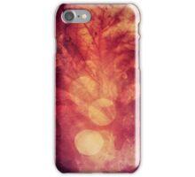 237 Red Fall iPhone Case/Skin