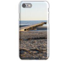 The beach in winter iPhone Case/Skin