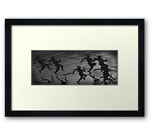 """More powerful than the will to win is the courage to begin"" Framed Print"